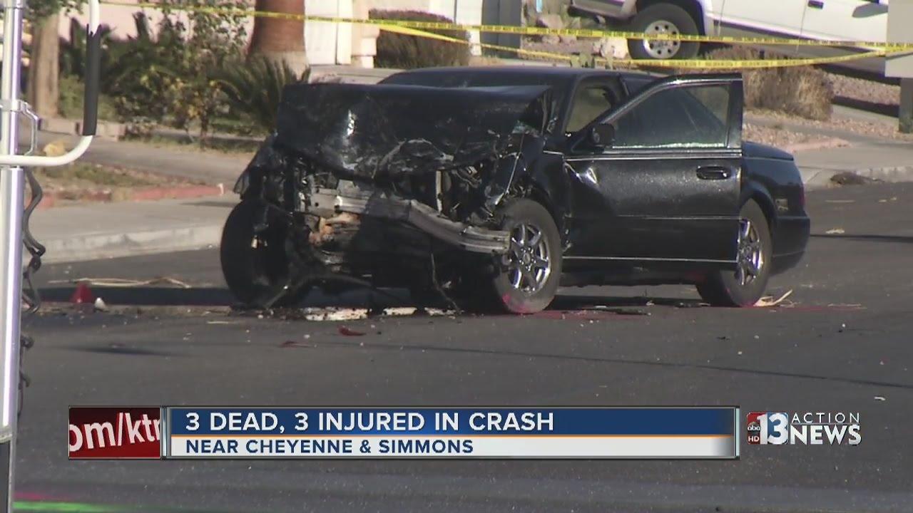 Las Vegas Car Accident >> 3 Dead 3 Injured In North Las Vegas Crash Youtube