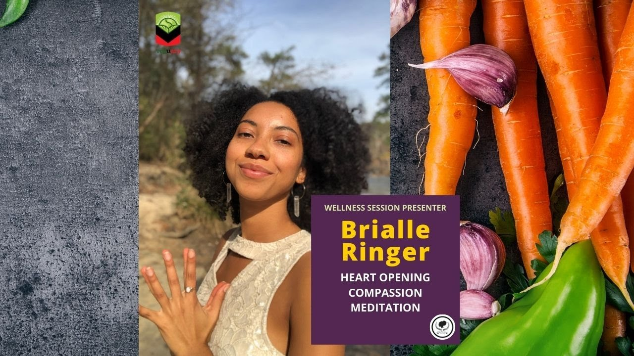Heart Opening Compassion Meditation with Brialle Ringer | Veguary Wellness Session