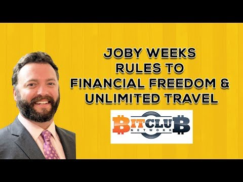 Interview with Joby Weeks from Bitclub network. Financial Freedom