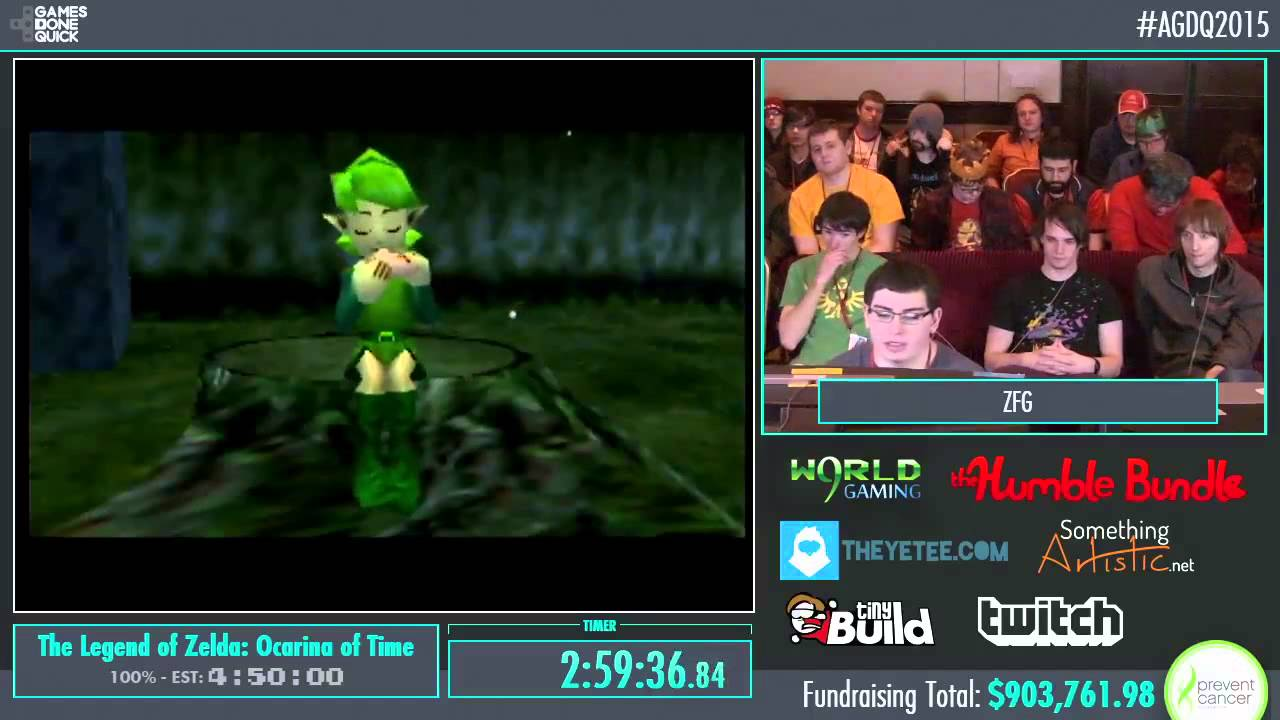 Awesome Games Done Quick 2015 Part 171 The Legend Of