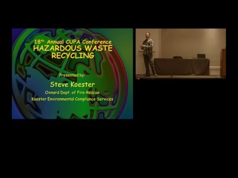 BASIC RECYCLING, EXEMPTIONS & EXCLUSIONS  (Part 1 of 2)