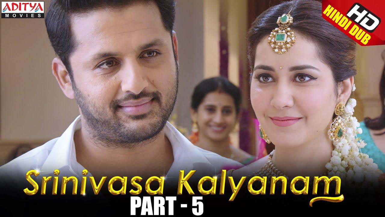 Srinivasa Kalyanam Hindi Dubbed Movie Part 5 | Nithiin, Rashi Khanna, Nandita Swetha, Prakash Raj