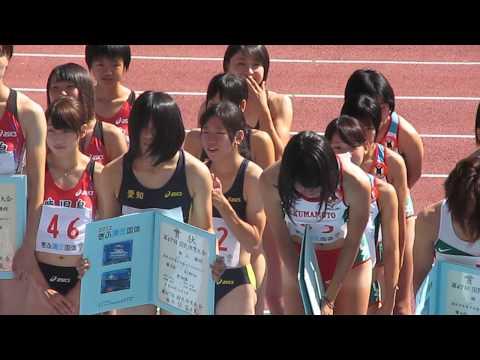 女子陸上表彰式