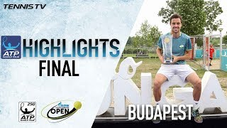 Cecchinato Beats Millman In Budapest 2018 Final Highlights