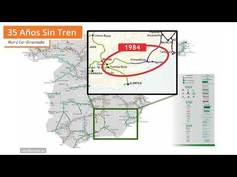 ¡35 Años sin tren Murcia-Granada!