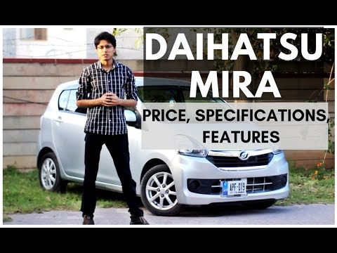 Daihatsu Mira e:S Detailed Review: Price, Specs & Features | Gearx.pk