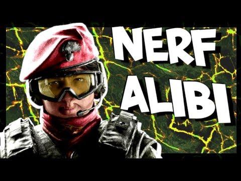 Nerf Alibi - Rainbow Six Siege