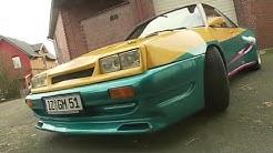 Unterwegs im original Opel aus Manta Manta mit Til Schweiger