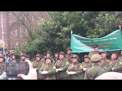 Irish citizen army. Freedom's sons