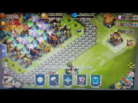 IGG Castle Clash Deleting All Heros