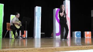 """Courtney Triplett singing """"Outside Looking In"""" by Jordan Pruitt - Jackson MS Talent Show"""
