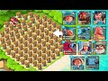 All Rocket Launcher Base vs EVERY Troop in Boom Beach