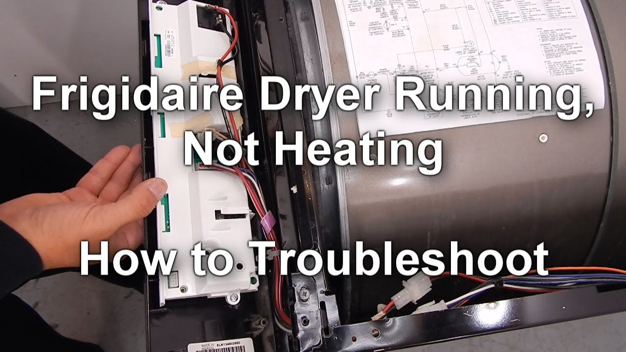 Wiring Diagram For Frigidaire Dryer Model Gler Library Of Harness How To Troubleshoot A That Runs But No Heat Youtube Rh Com Gallery Gas Schematic