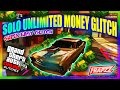 GTA 5 Online | NEW SOLO UNLIMITED MONEY GLITCH | MEGA EASY & FAST | AFTER PATCH 1.30 | HD