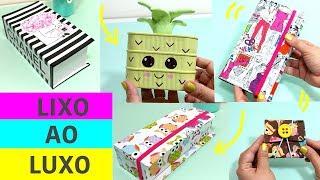 DIY - 10 ideias INCRÍVEIS do LIXO AO LUXO feat. Isabelle Verona