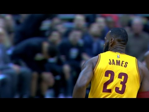 LeBron Passes Moses for 8th All-Time on Scoring List | 12.20.16