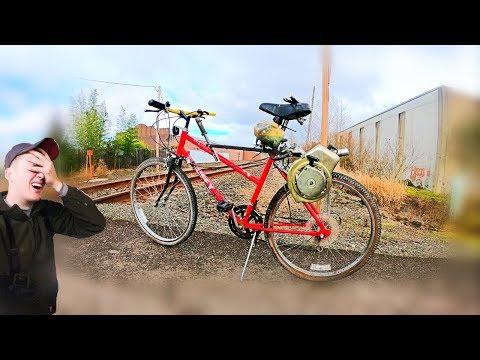simple DIY motorized bike