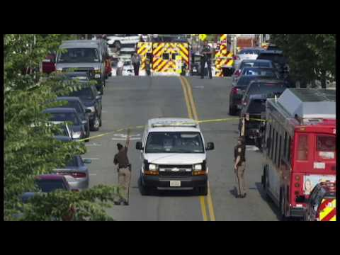 Raw audio: 911 call from shooting in Alexandria, Va.