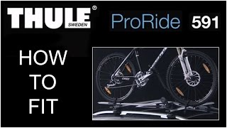 Thule Proride 591 - Bike Carrier - Roof Mounted