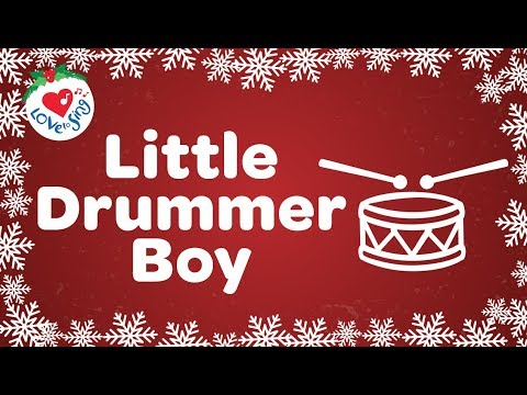 Little Drummer Boy with Lyrics Christmas Song 2018