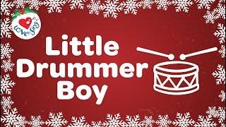 Little Drummer Boy with Lyrics Christmas Song 2018