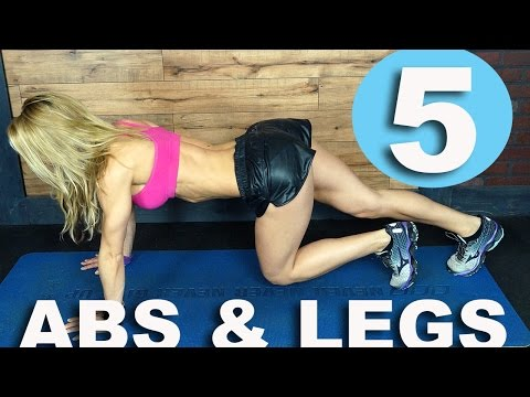 5-minute Workout #31 - Abs and Legs