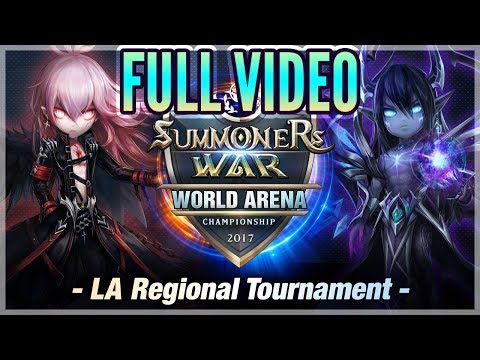 LA Regional Tournament - Full Stream! - Summoners War!