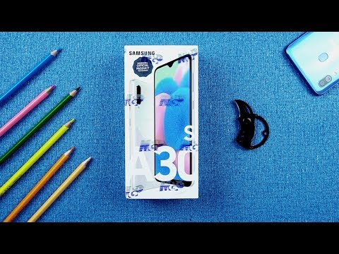 Samsung Galaxy A30s Prism Crush White Unboxing & Quick Overview | Pakistan | English