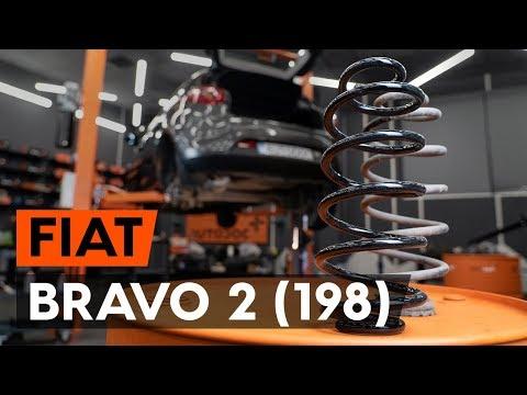 Как заменить пружины задней подвескиFIAT BRAVO 2 (198) [ВИДЕОУРОК AUTODOC]