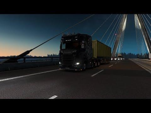 歐洲卡車模擬#3:失常的司機三寶的司機