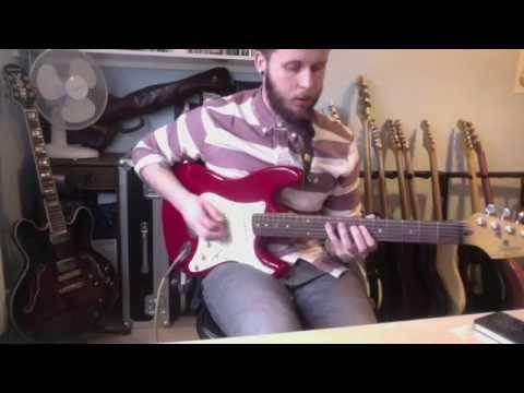 '1991 Fender Squier Korean Stratocaster' 'line 6 looping'