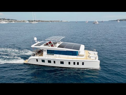 "Silent 55 e-catamaran 2018 - Worlds First ""Affordable"" E-Catamaran Is Here! (and yes its fast too)"