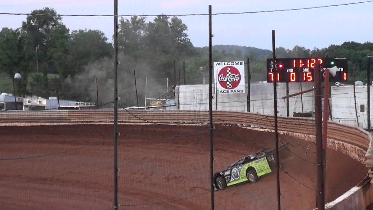 Scott Bloomquist Sets New Track Record At Tazewell Speedway 060312