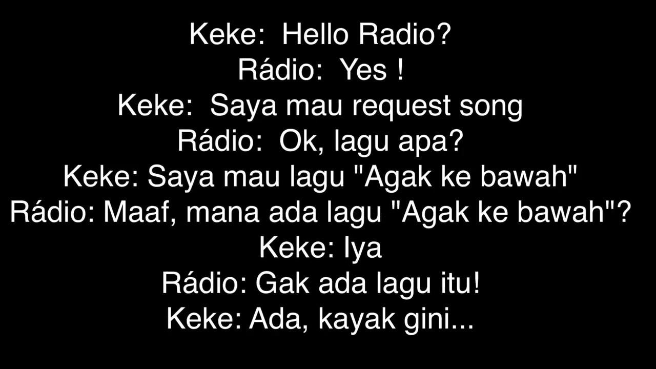 Bikin Ngakak Berikut Percakapan Penyiar Radio Dengan