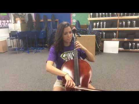 New World Symphony Theme Cello