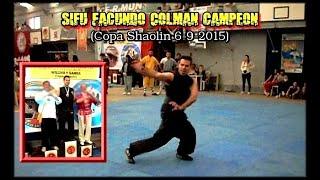 Profesor Facundo Colman Campeón (Copa Shaolin 6-9-2015)