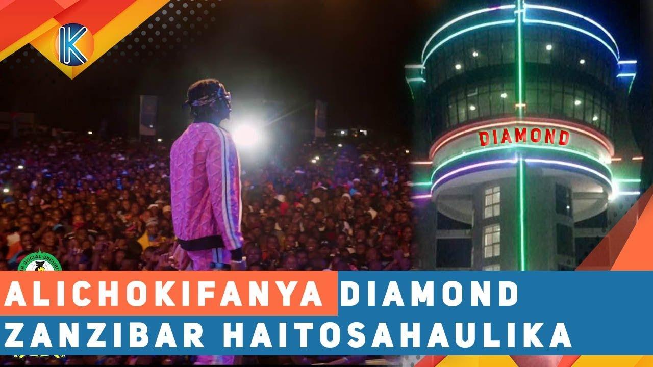 ALICHOKIFANYA DIAMOND ZANZIBAR HAITOSAHAULIKA