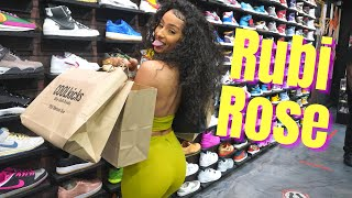 Rubi Rose Goes Shopping For Sneakers with CoolKicks