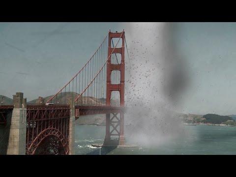 Golden Gate Bridge Tornado (After Effects VFX) + Breakdown