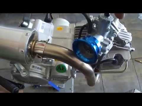 Testing 4 Valve Racing Engine