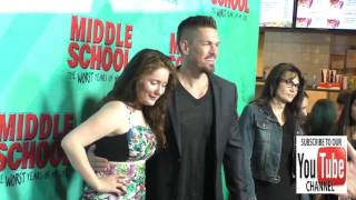 Emma Kenney and Steve Howey at the Premiere Of CBS Films' Middle School The Worst Years Of My Life a
