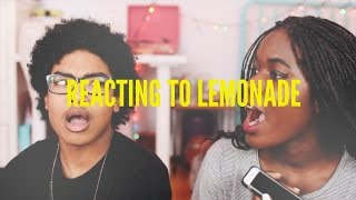 lemonade by beyoncé reaction