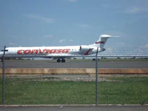 Conviasa en el Aeropuerto Manuel Carlos Piar de Guayana Venezuela svpr