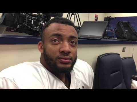 Auburn cornerback Carlton Davis on the Tigers' first spring scrimmage