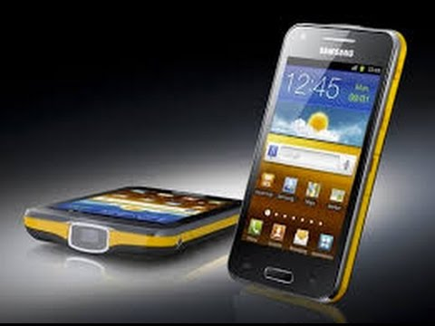 [DEMO] Projetor Samsung Galaxy Beam i8530