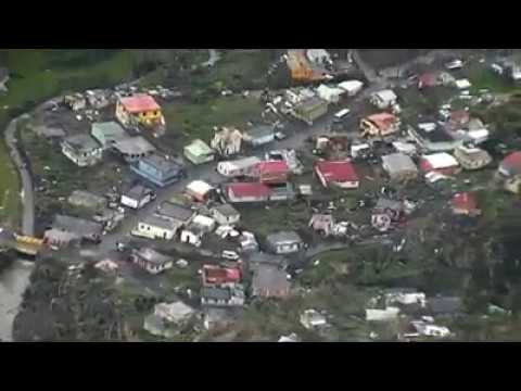 Dominica damage assessment (2) post Hurricane Maria - CDEMA - RSS Flight Wed 20170920