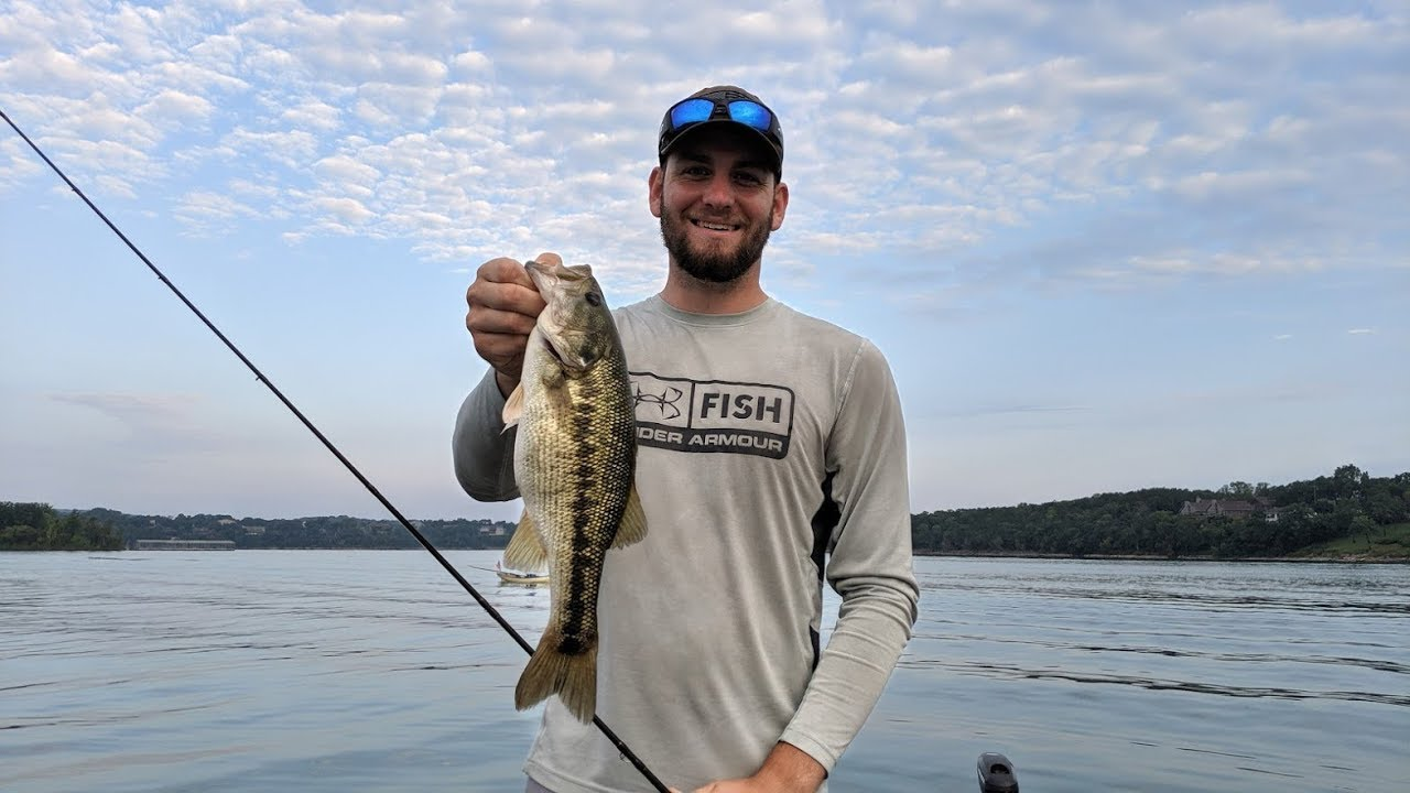 Table Rock Lake Video Fishing Report August 7 2019