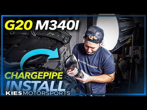DIY: BMW G20 M340 B58 FTP Charge Pipe Install!