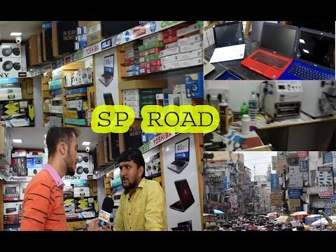 exploring SP Road  | cheap place for Electronic Items in Bangalore | Mc Taiwer | Bangalore Media
