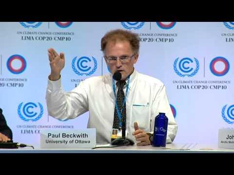 COP20: Global Arctic Methane Emergency #2 (12-5-2014 in Lima Peru)